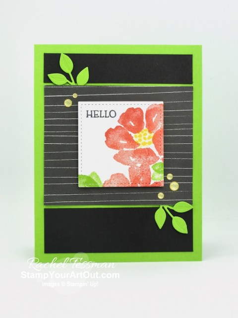 "Click here to see a couple ""hello"" cards that I made with images from the Blossoms in Bloom Stamp Set, designer paper from the August-December 2020 Mini Catalog (Magic In This Night and the Snowflake Splendor packs), and the Wreath Builder Dies. Access directions, more photos, measurements, and links to the products I used. - Stampin' Up!® - Stamp Your Art Out! www.stampyourartout.com"