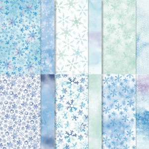 Snowflake Splendor Designer Paper! - Stampin' Up!® - Stamp Your Art Out! www.stampyourartout.com