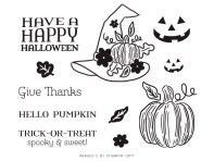 "The September 2020 ""Hello Pumpkin"" Paper Pumpkin Kit Stamp Set Case Insert. - Stampin' Up!® - Stamp Your Art Out! www.stampyourartout.com"