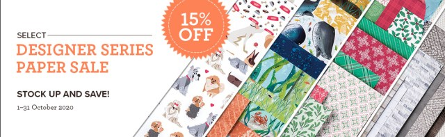Stampin' Up!'s Designer Series Paper Sale – October 2020! - Stampin' Up!® - Stamp Your Art Out! www.stampyourartout.com #stampyourartout #stampinup