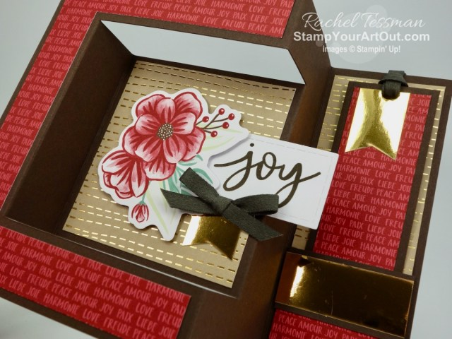 "I'm excited to share with you a couple more cards I created with the October 2020 Joy To The World Paper Pumpkin Kit! Click here for photos, measurements, directions/tips for making them, and a complete product list linked to my online store. Plus, you can see several other alternate project ideas created with this kit by fellow Stampin' Up! demonstrators in our blog hop: ""A Paper Pumpkin Thing""! - Stampin' Up!® - Stamp Your Art Out! www.stampyourartout.com"