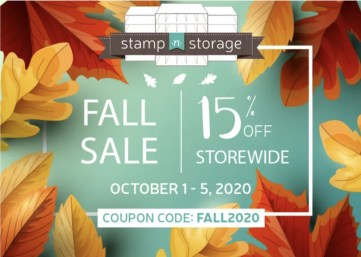Stamp-n-Storage's Fall 2020 Sale! - Stampin' Up!® - Stamp Your Art Out! www.stampyourartout.com