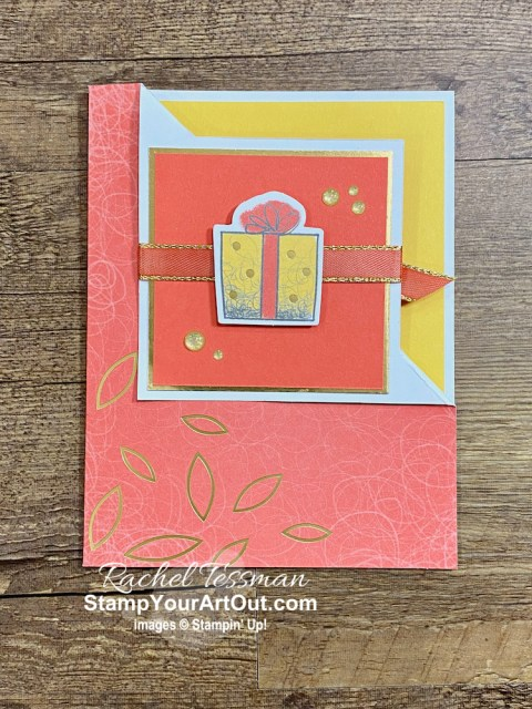 I'm excited to share with you some alternate project ideas I came up with using the contents of the December 2020 Beary Comforting Paper Pumpkin Kit: two gift boxes, four fun-fold cards, and a beautiful fan! Click here for photos of all these projects, a video with directions, measurements and tips, and a complete product list linked to my online store! - Stampin' Up!® - Stamp Your Art Out! www.stampyourartout.com