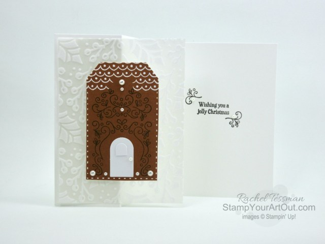 I'm excited to show you a few more projects I made using the contents of the November 2020 Jolly Gingerbread Paper Pumpkin kit and a few other products. Click here to access measurements, tips, more close-up photos, and links to the products I used.  - Stampin' Up!® - Stamp Your Art Out! www.stampyourartout.com