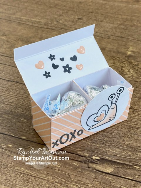 I'm excited to share with you some alternate project ideas I came up with using the contents of the January 2021 Sending Hearts Paper Pumpkin Kit: converting 8 cards into 20, a couple two-compartment treat boxes, and variations of the coordinating add-on kit Love Boxes! Click here for photos of all these projects, a video with directions, measurements and tips, and a complete product list linked to my online store! - Stampin' Up!® - Stamp Your Art Out! www.stampyourartout.com