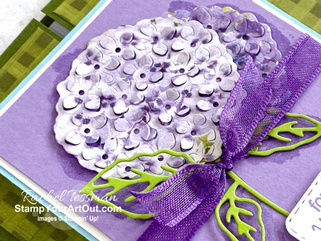 Here is a peek at the project I made for the Hydrangea Hill All Star Tutorial Bundle. Place a qualifying order in the month of March 2021 and get the bundle of 12 fabulous paper crafting project tutorials for free! Or purchase it for just $15 US. - Stampin' Up!® - Stamp Your Art Out! www.stampyourartout.com