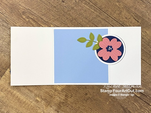 Here are ten cards featuring the Paper Blooms Designer Paper – a free Sale-a-Bration product available through February 28, 2021! - Stampin' Up!® - Stamp Your Art Out! www.stampyourartout.com