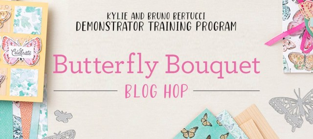 Butterfly Brilliance Collection (Butterfly Bouquet) Blog Hop! - Stamp Your Art Out! www.stampyourartout.com