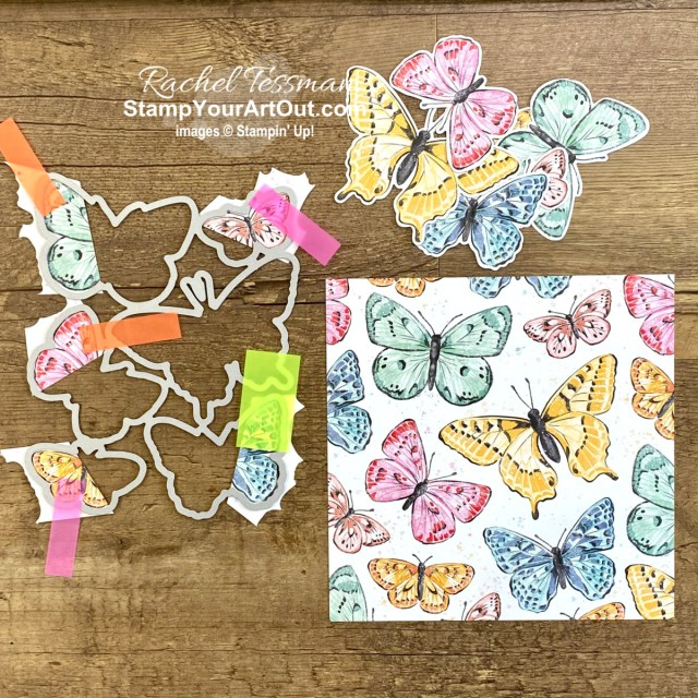 Butterfly Bijou closure cards! Click here to learn more about the new Butterfly Brilliance Collection available March 2 – May 3, 2021. Access more photos, measurements, directions, and a supply list by clicking here. Stampin' Up!® - Stamp Your Art Out! www.stampyourartout.com