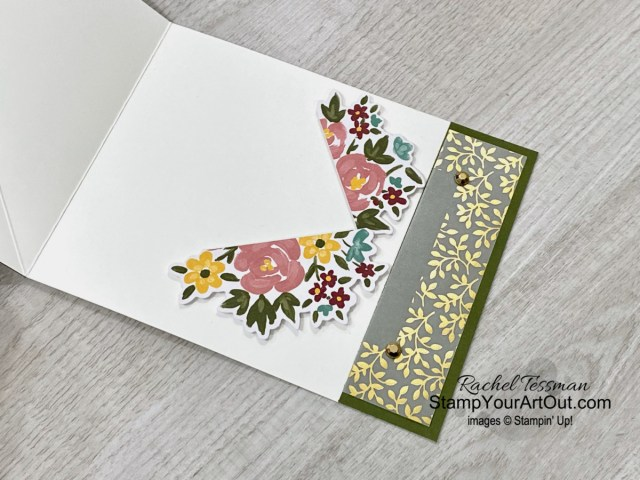 Here are a few more alternate projects that I created with elements from the February 2021 Bouquet of Hope Paper Pumpkin Kit: an Easter-themed scrapbook page, two angled easel cards, and the cards I gifted to a few of my lucky subscribers. Click here for more photos, measurements, a supply list, and helpful tips. - Stampin' Up!® - Stamp Your Art Out! www.stampyourartout.com