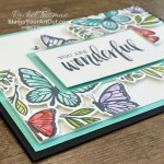 The floating frame technique is so fun and…so EASY with the Floating and Fluttering Bundle. Access directions for this technique in a linked how-to video, more photos of my two butterfly cards, measurements, and links to all the products so you can make them, too. - Stampin' Up!® - Stamp Your Art Out! www.stampyourartout.com