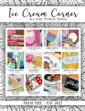 Here are the Ice Cream Corner Suite All Star Tutorial Bundle Peeks. Place an order in the month of May 2021 and get this bundle of 12 fabulous paper crafting project tutorials for free! Or purchase it for just $15. - Stampin' Up!® - Stamp Your Art Out! www.stampyourartout.com