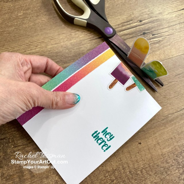 I've got one more fun card that I created with my leftover elements from the April 2021 So Cool Paper Pumpkin Kit. Click here for more photos, measurements, a supply list, and helpful tips. - Stampin' Up!® - Stamp Your Art Out! www.stampyourartout.com