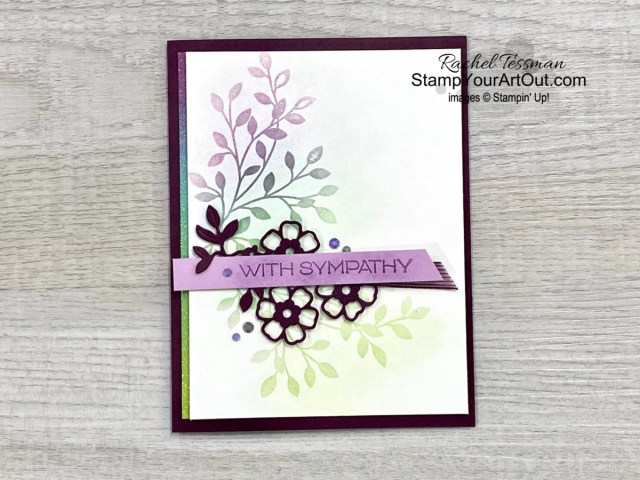Click here to see a couple methods for achieving the Poppin' Pastels technique using Stampin' Up!'s new Soft Pastels, the Rainbow Glimmer Paper, the In Color Jewels, and the retiring Vine Design Stamp Set & coordinating Flowering Vines Dies. Access measurements, more photos, a how-to video with directions, and links to the products I used.  - Stampin' Up!® - Stamp Your Art Out! www.stampyourartout.com
