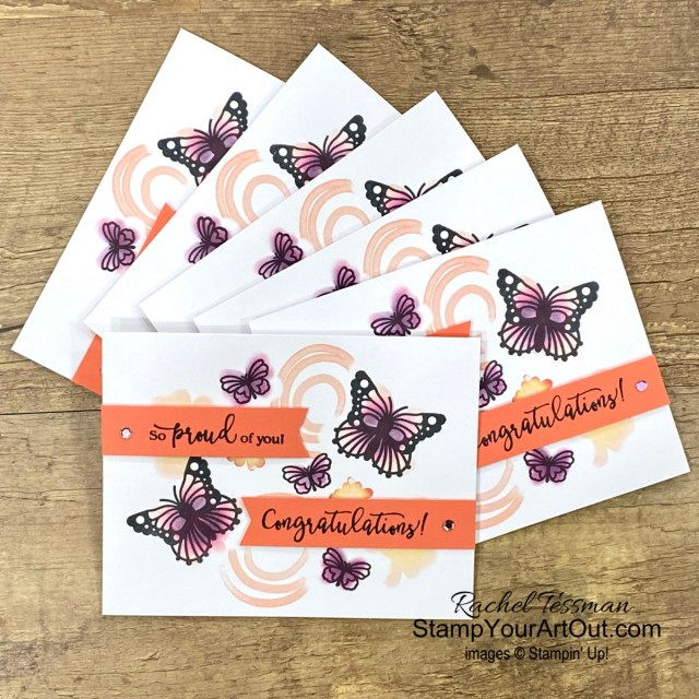 Here is one more alternate card that I created with elements from the August 2021 Hope Box Paper Pumpkin Kit. I gifted this card to a few of my lucky subscribers. Click here for more photos, measurements, a supply list, and helpful tips. - Stampin' Up!® - Stamp Your Art Out! www.stampyourartout.com