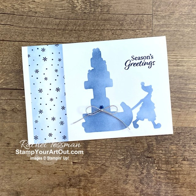 Are you familiar with Stampin' Up!'s new kit line: Kits Collection? Click here to learn more, see a few of the latest kits, and see what I did with the leftovers from the Christmas Whimsy kit. Access more photos, measurements, directions, and a supply list by clicking here. - Stampin' Up!® - Stamp Your Art Out! www.stampyourartout.com