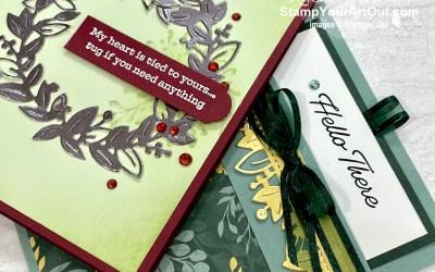 CASEd Cards Using Eden's Garden