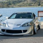 Lowered 2005 Acura Rsx On Work Ryver Tourings Wheels In Custom Full Polish Autospice