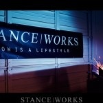 Raise Your Colours: The Stance Works Garage Banner