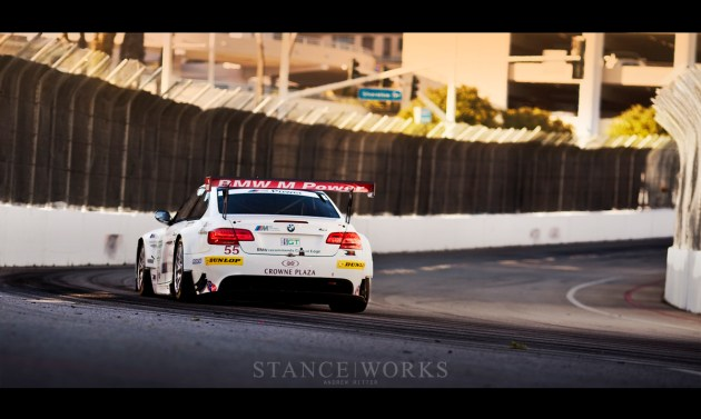 BMW ALMS m3 Long Beach corner