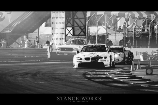BMW ALMS Corvette