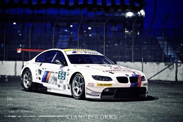 BMW ALMS m3 paddock