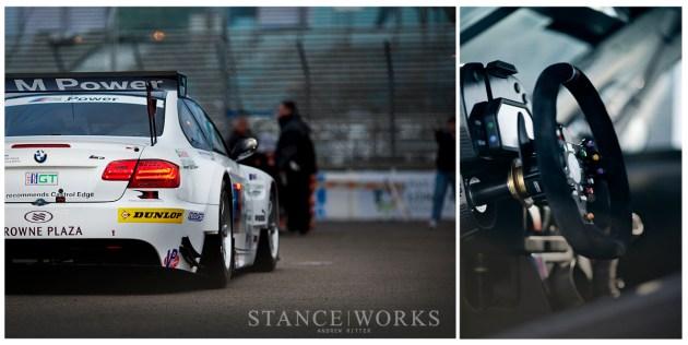 BMW ALMS M3 GTR Interior