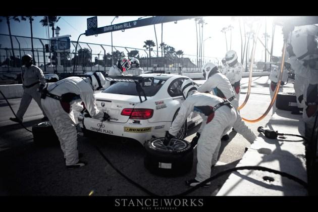 BMW ALMS Pit Stop