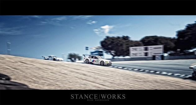 BMW ALMS corkscrew