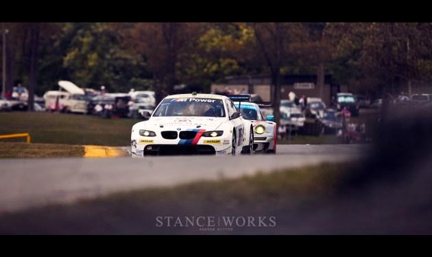 BMW ALMS race