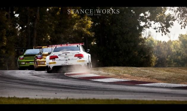 BMW Porsche ALMS