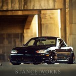 A Certain Dedication : Evan Gillis's Slammed Miata