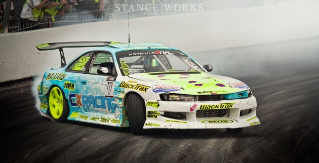 Matt Fields Rotiform NUE Formula Drift Irwindale Speedway