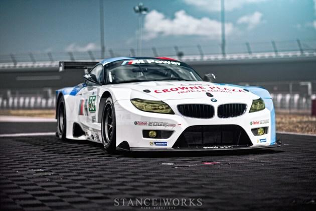 BMW Z4 GTE Castrol Edge ALMS
