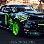 Wild Horses - Vaughn Gittin Jr's Monster Energy / Nitto Tire Formula Drift Mustang RTR