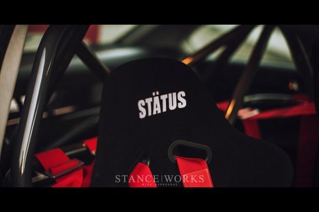 status racing seats bmw