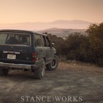 The Daily Grind - Climbing to Santiago Peak in the StanceWorks FJ62 Land Cruiser