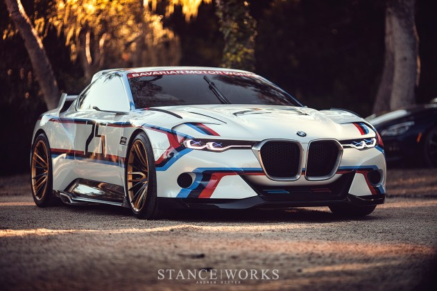BMW CSL Hommage R Concept Car - Pebble Beach, Monterey