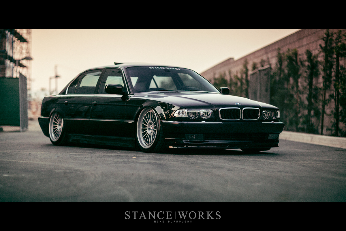 Saying Our Farewells The Stanceworks Project 2000 E38 Bmw 740il Looks For A New Home