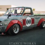 """Works Style"" - Landon Brown's 1973 Datsun 620 Pickup"