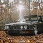 Aesthetics - Constantin Rogojan's BMW E28 - Photographed by Alex Pfeiffer