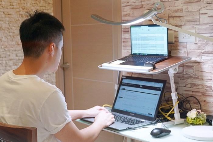 BenQ WiT 螢幕閱讀檯燈 智能調光升級版|居家工作必備用品|WFH必備用品|護眼檯燈推薦