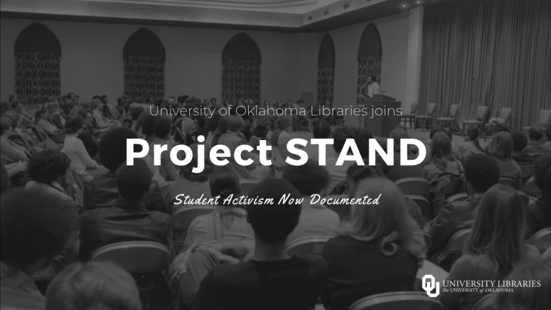 Announcement of University of Oklahoma Libraries joining Project STAND