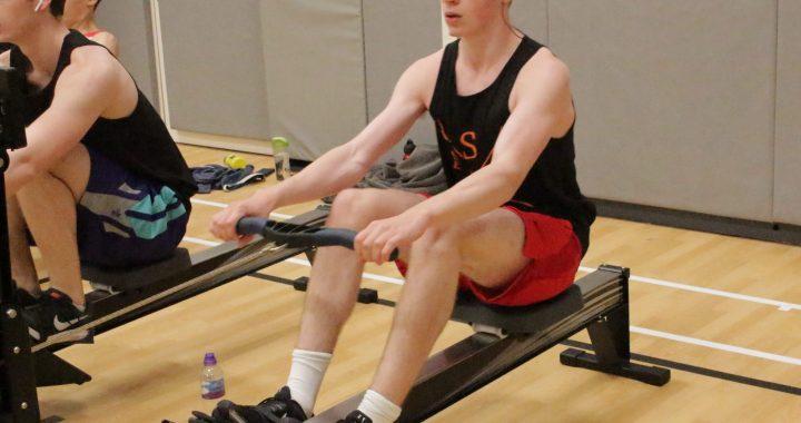 Matthew Hansen sets U-16 10km ERG world record
