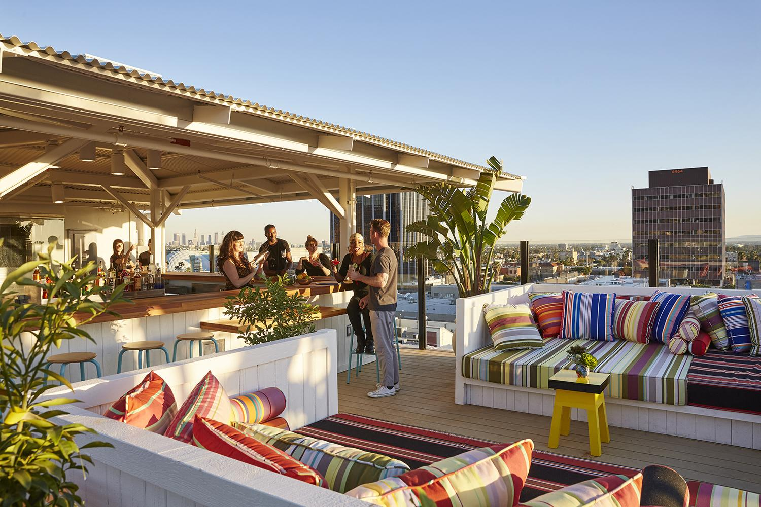 The Best Rooftop Bars To Visit In Los Angeles