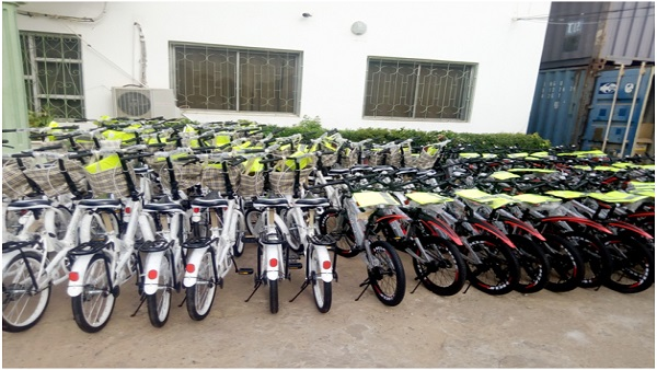 ChildFund donates more bicycles to improve grades in schools