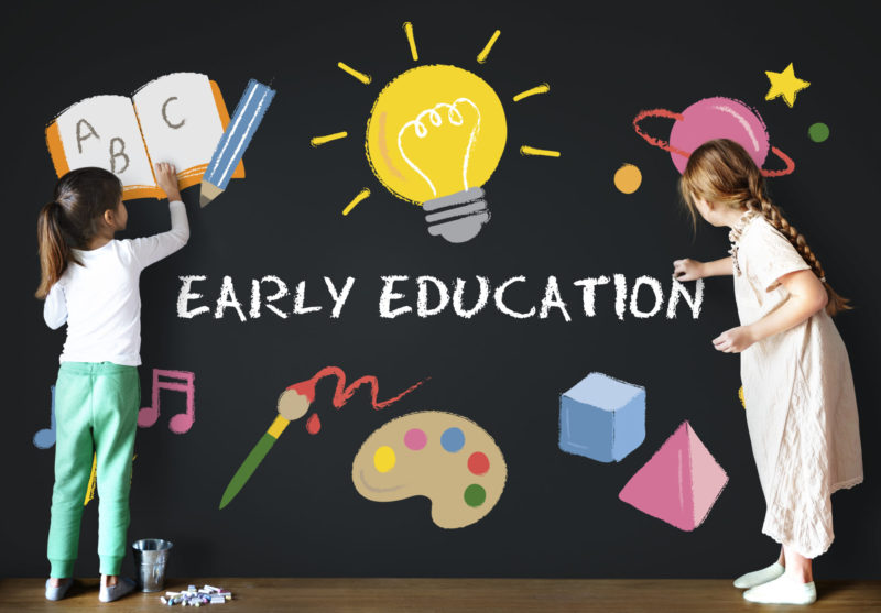 Early Education Sign