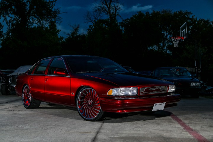 1996 Chevrolet Impala SS sittin' on Forgiato Autonomos