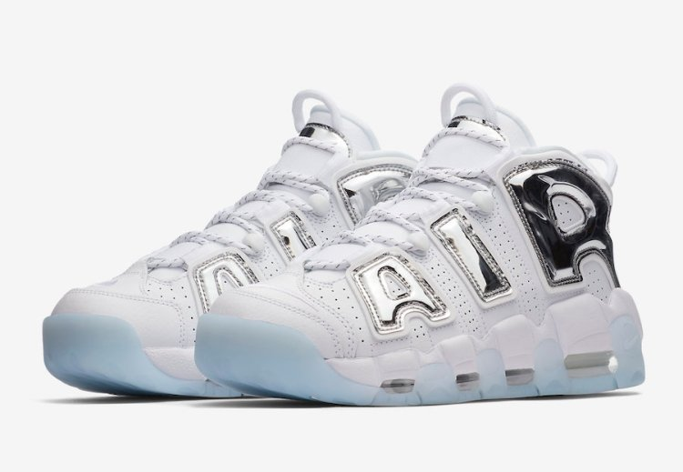 The Nike Air More Uptempo Chrome will be another women s exclusive release. 304e933f24
