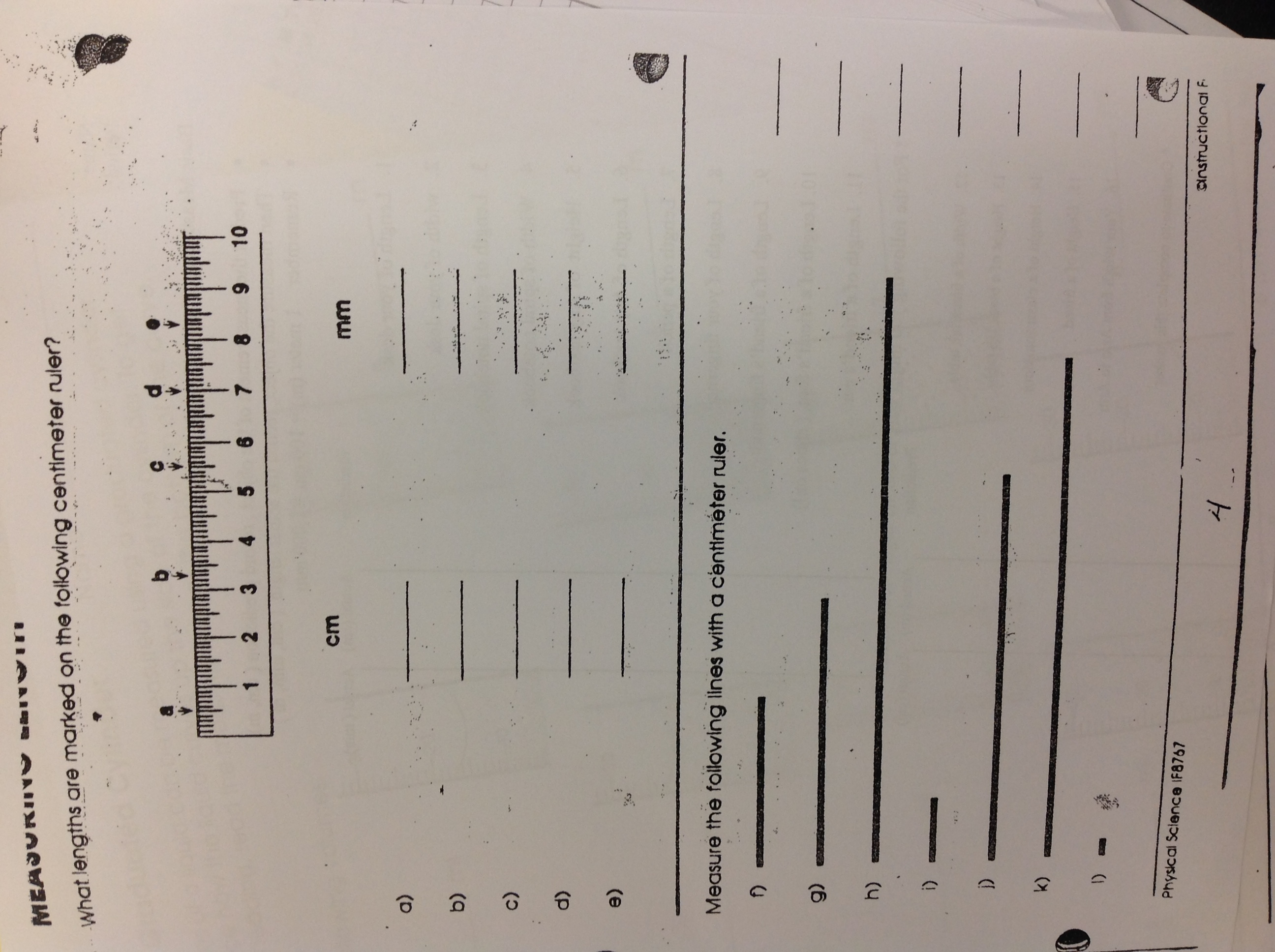 Lab Safety Scientific Method Metric System